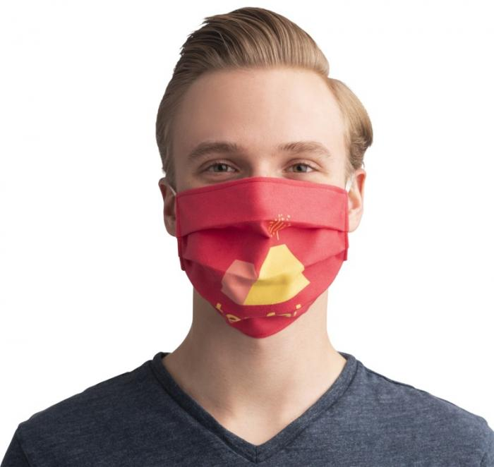 Promotional Sublimation reusable face mask