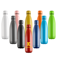 500ml Vacuum Drinks Bottle - Powder Coated