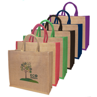 Large Eco Friendly Natural Jute Bag