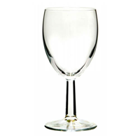 Budget red wine glass