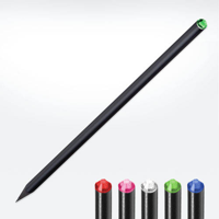 Crystal Tipped Eco Pencil Black