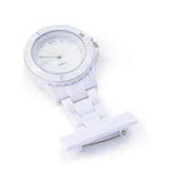 ABS nurse watch with silver and white coloured digits.