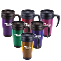 Marco 450Ml Plastic Double Walled Travel Mug