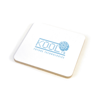 Square Cork Coloured Coaster