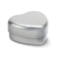 Lip Balm In Heart Shape Tin