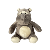 Plush Animal Zoo Rhino Leif