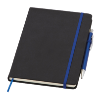 Medium Noir Notebook (Curvy)