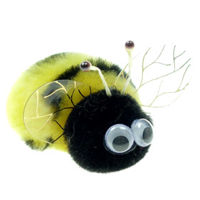 Custom Fluffy Bee Bug