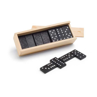 Dominoes Game In Wooden Box