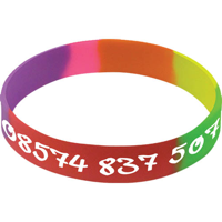 Silicone Wristbands Glow in the Dark