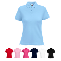 Lady Fit Pique Polo Shirt