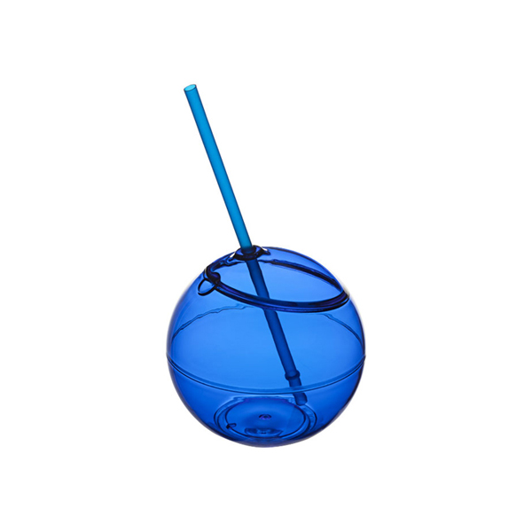 Fiesta ball and straw