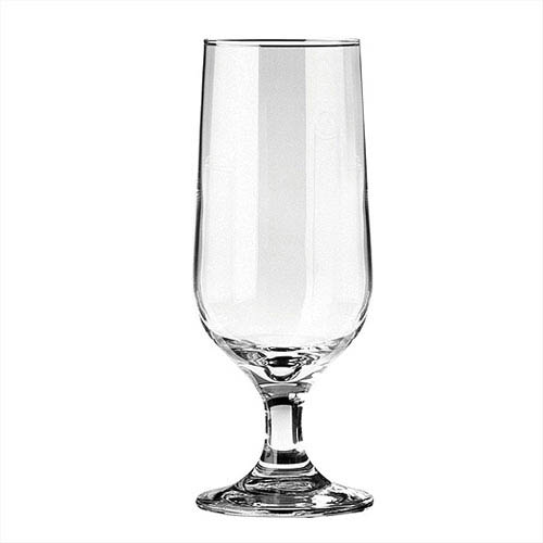 Short stemmed beer glass 12oz, 180mm high