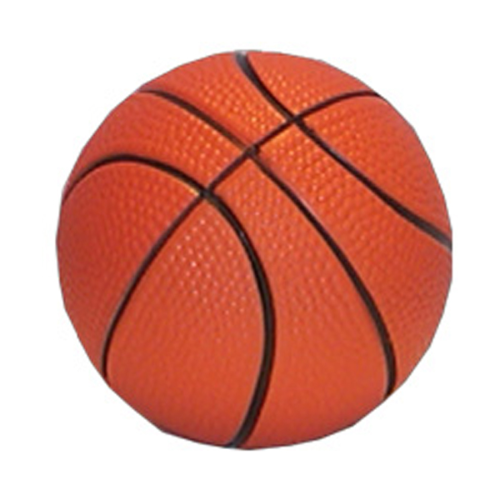 Basketball 63Mm Stress Toy