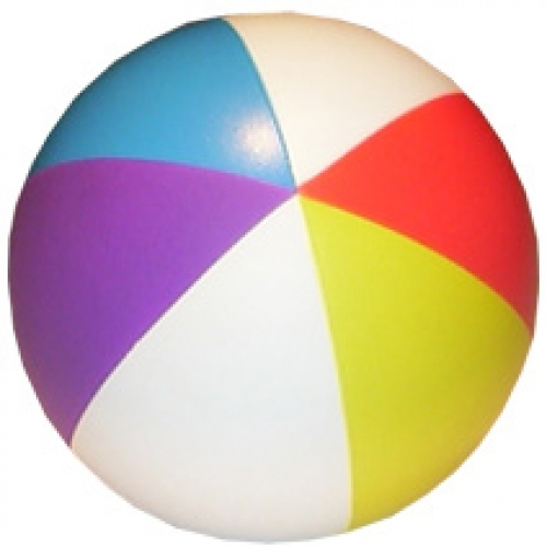 Beach Ball 5 Colours Stress Toy