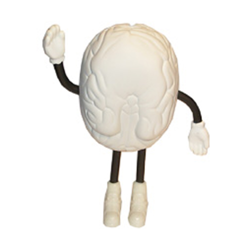 Brain Man Large Stress Toy