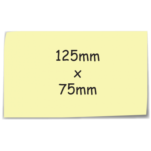 Sticky-Mate Note 125mm x 75mm